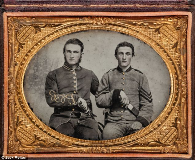 Captain Charles A. and Sergeant John M. Hawkins, of Company E, 38th Regiment Georgia Volunteer Infantry