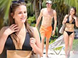 EXCLUSIVE: Cricketer Jake Ball and girlfriend Harriet Gisbourne are pictured at the beach taking in some sun before match in Barbados on Thursday. 07 Mar 2017 Pictured: Jake Ball. Photo credit: QueensofTheNorth / MEGA TheMegaAgency.com +1 888 505 6342