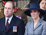Mandatory Credit: Photo by Tim Rooke/REX/Shutterstock (8494034g) Prince William and Catherine Duchess of Cambridge Iraq and Afghanistan war memorial dedication and unveiling, London, Britain - 09 Mar 2017