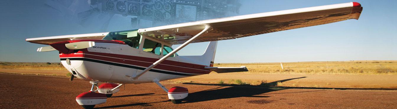 Skyhawk II on the runway