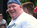 Strongman and ex-cop Gerard Benderoth (pictured), 48, killed himself Wednesday morning after being pulled over by the FBI in Haverstraw, New York, several sources said