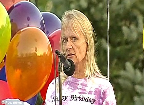 Grief: Her mother Brenda paid tribute to her popular daughter at the party