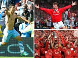 Barcelona's players celebrate after completing the most miraculous of comebacks