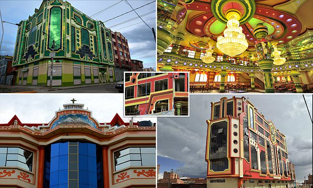 Bolivia's colourful El Alto that looks like a video game