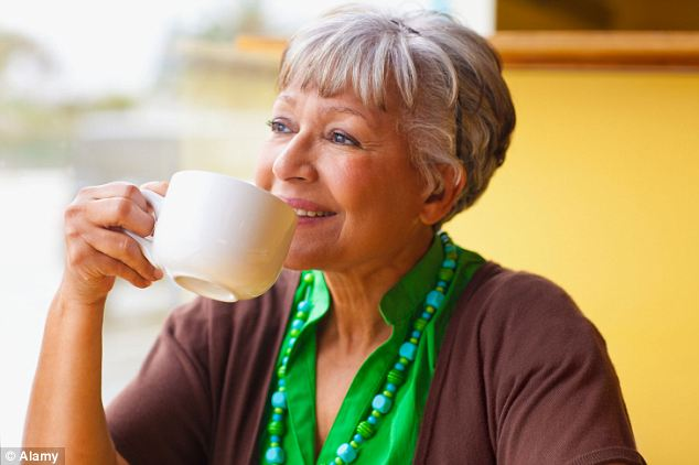 New lease of life: The treatment meant dementia sufferers could do everyday activities such as cooking, washing and shopping for longer than  those who did not take a dose. (Stock image for illustrative purposes)