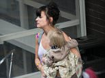 Pop star Lily Allen has relived the moment her daughter Marnie (pictured together) ended up in A&E