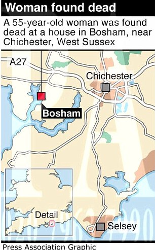 Bosham is near Chichester on the south coast