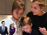 Ivanka Trump shared this photo of herself making traditional cookies for upcoming Jewish holiday Purim with daughter Arabella, 5, and son Joseph, 3, on Friday night