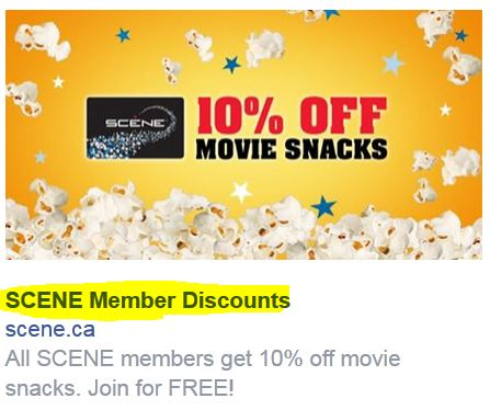 scene member discounts - A Guide to Writing Killer Facebook Ad Headlines