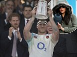 Mandatory Credit: Photo by Mark Pain/REX/Shutterstock (8475749ar)\nENGLAND CAPTAIN DYLAN HARTLEY IS PRESENTED
