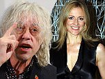 Pictured, Sir Bob Geldof