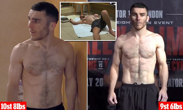 Dangerous 'weight cutting' MMA fighters do to compete