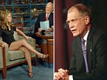 Difficult: David Letterman was hugely popular as the host of Late Night and the Late Show - but insiders claim that he was insecure, and that his insecurity would turn into attacks on others
