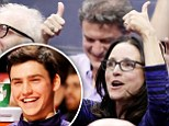 'We're going to the dance, boys!' Julia Louis-Dreyfus cheers on her son as Northwestern makes it to the NCAA Championship for the first time since the tournament began  Northwestern makes it to the NCAA Championship Northwestern University made it to the NCAA tournament this year for the first time since it began, and Julia Louis-Dreyfus tweeted enthusiastically about her son's team making it to the 'big dance'. After beating Rutgers by nearly 20 points, Northwestern secured their spot in the tournament, despite losing to Wisconsin by an embarrassing margin of 76-48 in the Conference Championship semi finals. The tournament begins on Tuesday, and will go on through the final game, which will be played on April 3 in Phoenix Arizona.