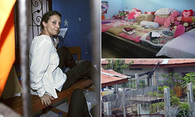 Sara Connor to spend four years inside Corby Bali prison
