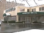 A teenage girl has claimed she was forced to have sex with more than 1,000 men over two years at the Roosevelt Inn (pictured) in Philadelphia