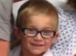 Tragedy: Five-year-old Charlie Dunn, from Tamworth, Staffordshire, died on 23 July 2016 following an incident at Bosworth Water Park, near Hinckley, Leicestershire