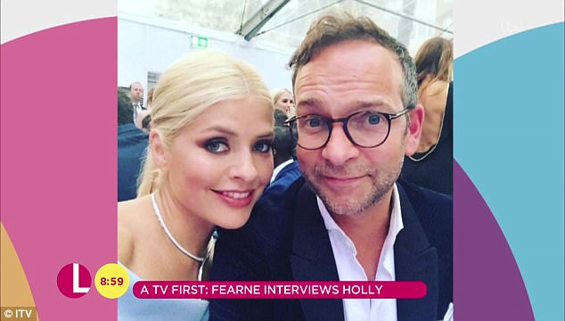 Just the two of us:In August 2007, when Holly married her husband Dan Baldwin, Fearne was a bridesmaid shortly before the dating show hit screens
