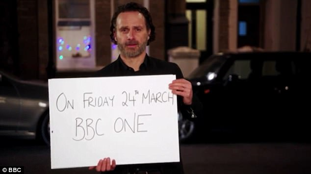 'Friday 24th March on BBC One': Andrew ensures to let everyone know the date