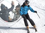 Prince William was pictured giving a high five to Austrlian model Sophie Taylor, 24, (pictured) during at boozy lunch on his ski trip to Switzerland