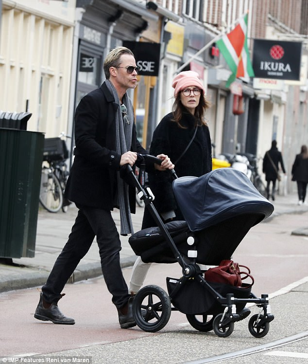 Parenthood: Carice welcomed the couple's first child back in August 2016