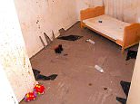 'Sadistic': The image, released by the Crown Prosecution Service, shows the bedroom where the now-jailed father of three kept two of his children