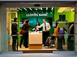 Is it a bank, or is it a kiosk? The Lloyds micro branch near St Paul's in London is a mere 13ft wide