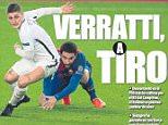 Mundo Deportivo claim Barcelona will try to sign Paris Saint-Germain star Marco Verratti