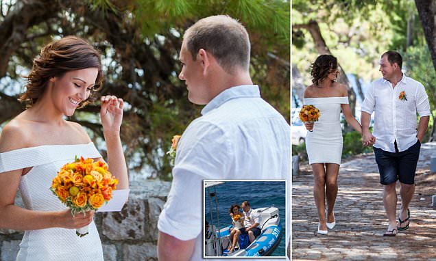 New Zealand couple ELOPE to Croatia for their wedding