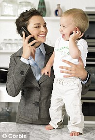 Putting your baby on the phone is a big no-no