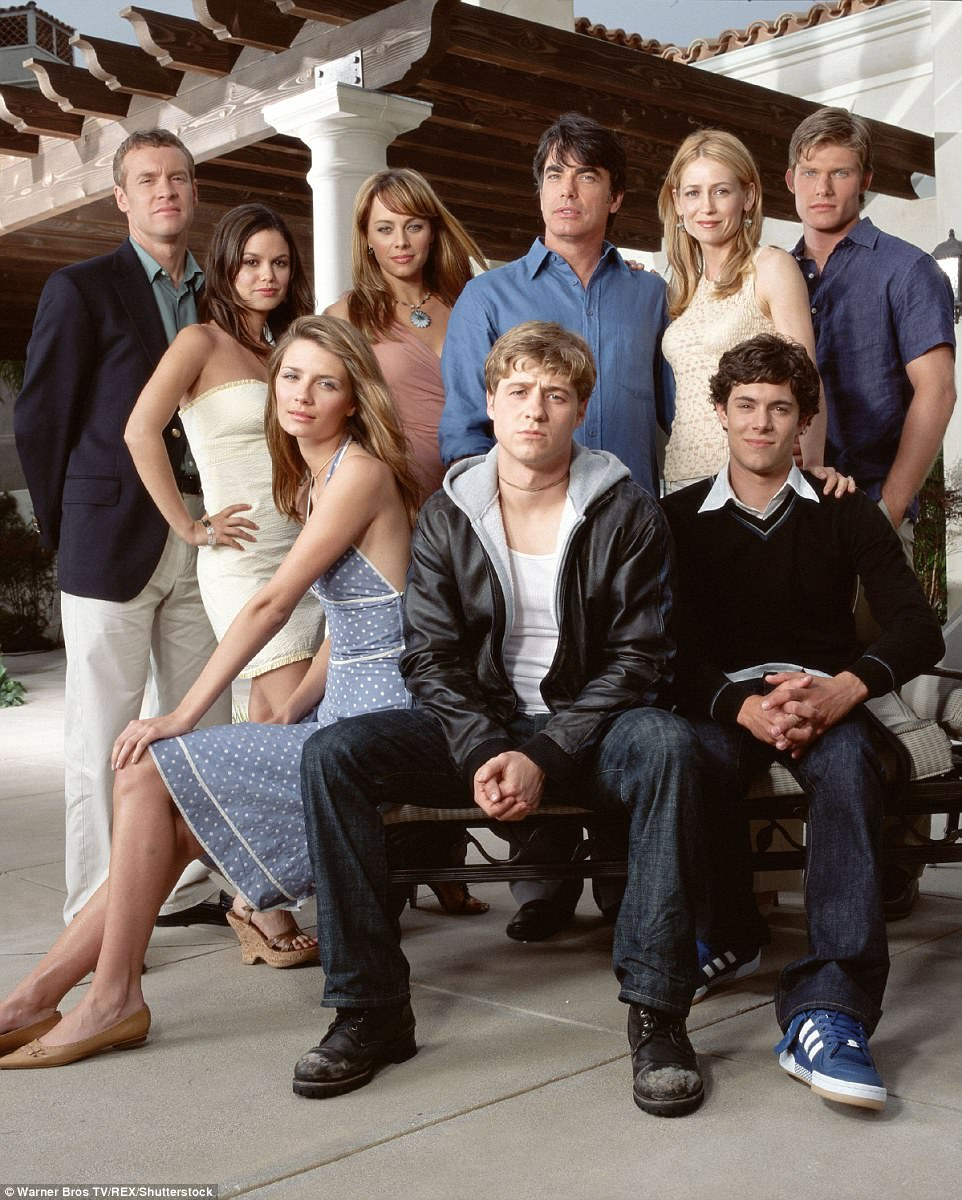 Back in the day: She starred as Marissa Cooper in the Fox television series The O.C. for four years