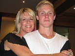 Kate McLoughlin is speaking out after her son Zachary McLouglin-Dore, 19, killed himself this time last year (they are pictured together)