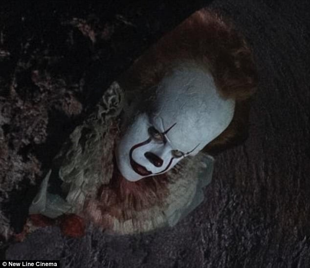 Scary:The first trailer for Stephen King's It was shown over the weekend as part of the SXSW Conference And Festivals and according to Bloody Disgusting, it left the 'audience screaming'