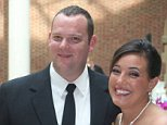 The bodies of Brian J Halye, 36, (left) and Courtney A Halye, 34, (right) were found Thursday
