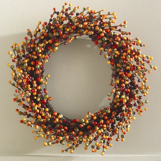 Fall Wreaths Berry