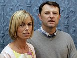 Kate McCann reveals her book, Madeleine, with her husband Gerry