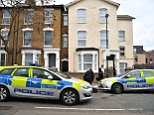 Police remain at the scene in Finsbury Park this morning, and officers are reportedly looking for a suspect
