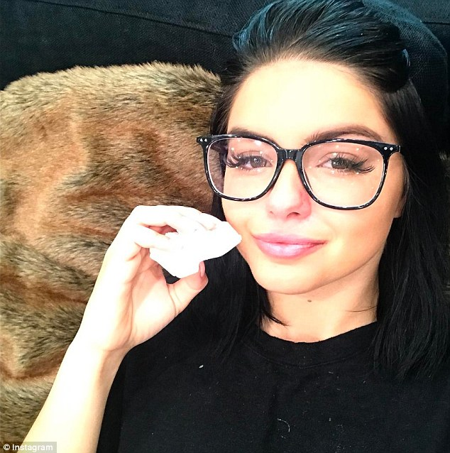 Ready to go! On Friday, Ariel Winter, 19, showed excitement for her upcoming admittance into the University of California at Los Angele