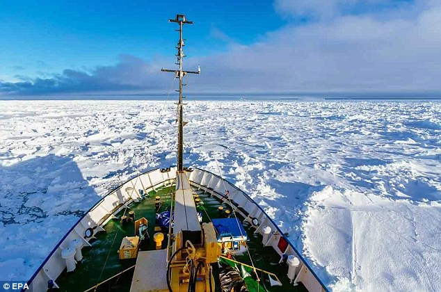 The ship had been on a multi-day tour from New Zealand to visit several sites along the edge of Antarctica before getting trapped in sea ice