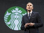 Howard Schultz will step down as Starbucks CEO  on April 3, as announced in December of last year