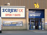 Boost: Screwfix sales rose 2.3% in the year to January 31. The DIY giant has stores in the UK, France, and other European countries