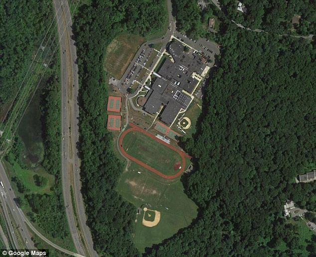 Land in question: The toxic playing fields used by Briarcliff Manor middle school and high school were finally closed in 2010 but documentation shows that the school was initially warned in 1999