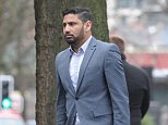 Mustafa Bashir, 34, outside Manchester Crown Court, battered his wife with his own bat and made her drink bleach
