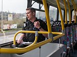 Police officers in Plymouth, Devon, have been using a double-decker bus to try and catch motorists breaking the law