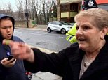 Pensioner Mary Ganning was filmed confronting pro-EU protesters in Sunderland yesterday