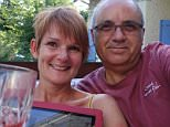 David Turtle, 62, (right) has been arrested after wife Stephanie, 50, was crushed to death with the family car in South West France