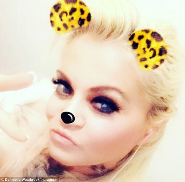 Coming back:The EastEnders star, who was formerly treated for cocaine addiction, revealed she was returning to a treatment centre which led to an outpouring of support and concern from some of her 10,900 followers on the photosharing site