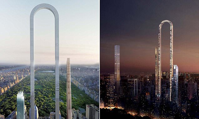 The incredible U-shaped New York skyscraper is unveiled