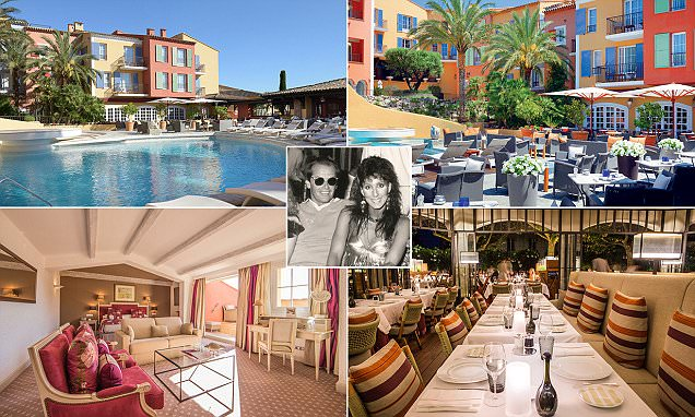 Inside the Saint-Tropez hotel beloved by Hollywood legends