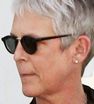 Shady lady: Jamie Lee Curtis sported heavily tinted sunglasses as she stepped out for groceries in West Hollywood on Tuesday